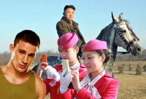 Kim Jong Eun has banned Channing Tatum from North Korea, which is fine with me.