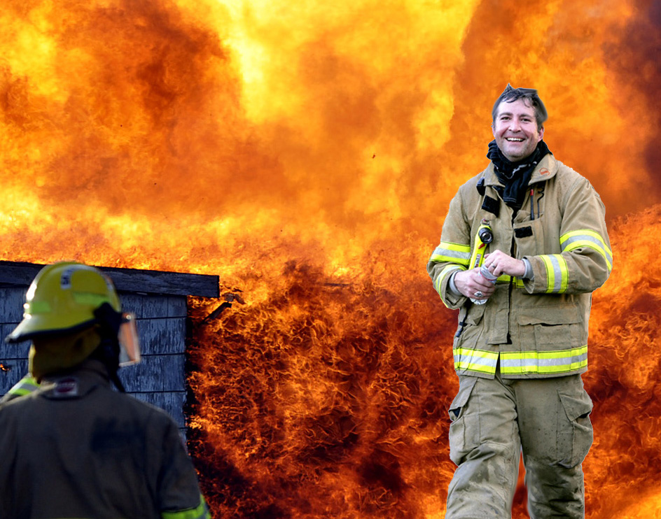 There's nothing funny about being a firefighter... well, mostly (2/2)
