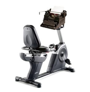 Bike typewriter copy