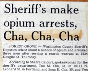 "The only thing keeping this from perfection is the incorrect use of tense in the word ""Sheriff's."" The editor was probably too excited to notice it should have been ""Sheriffs."""