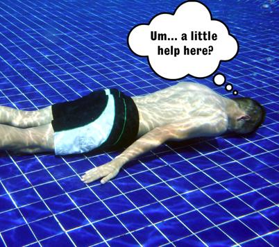 square Bad swimmer copy