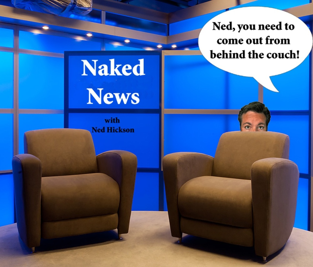 Naked News broadcasts viewed by some as too cheeky