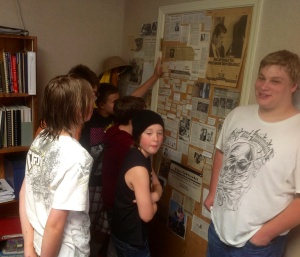 After perusing The Door, everyone agreed on a favorite clipping...