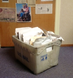 The Box, home to 30 years of unidentified and unclaimed photos submitted to Siuslaw News, usually while attached to a rock.