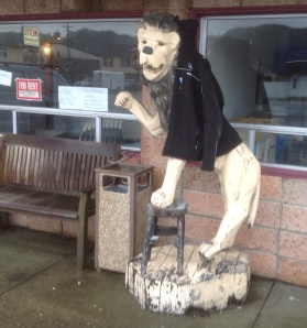 Enjoy the jacket, Wooden Lion! I doubt you can get the hood over your FAT HEAD!