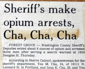 "The only thing keeping this from true perfection is the incorrect use of the possessive word ""Sheriff's."" The editor was probably too excited to notice it should have been ""Sheriffs."