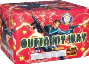 Unleashing your final wave of fireworks awesomeness isn't the time to be polite.