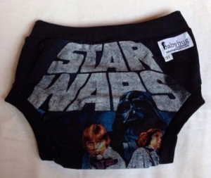 """It surrounds us and keeps the galaxy together..."" — Ben Kenobi, speaking on the importance of galactic Underoos."