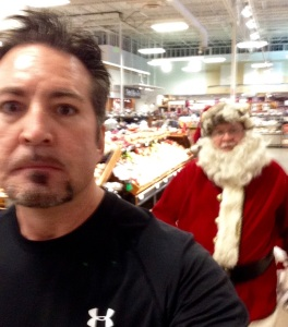 Apparently, he also sees you when your shopping.