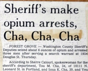 "The only thing keeping this from true perfection is the incorrect use of the possessive word ""Sheriff's."" The editor was probably too excited to notice it should have been ""Sheriffs."""