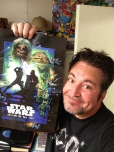 It's like The Force picked ME to have this poster!