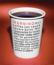 Simply put, coffee will hurt you. Period.
