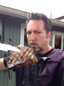Don't let my offer of a grilled sirloin influence your vote at all...